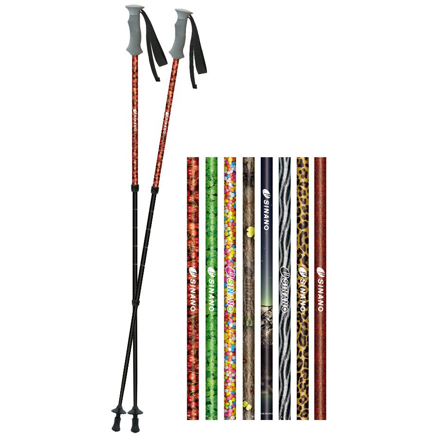 ポール技術でWalking Lifeを支える 【 sinano Trekking poles フォトチョイス 2本1組@14580】 シナノ トレッキングポール photo choice トレッ