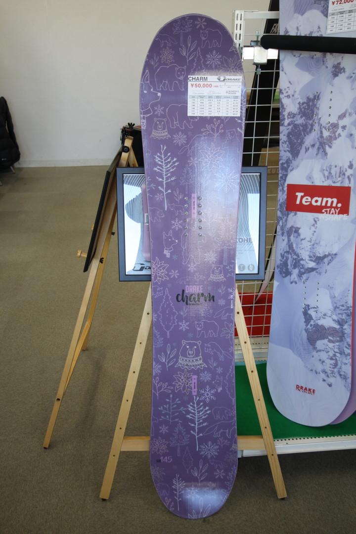 DRAKE SNOWBOARDS [ CHARM @54000 ] ドレイク ウーメンズ スノーボード 【正規代理店商品】【送料無料】