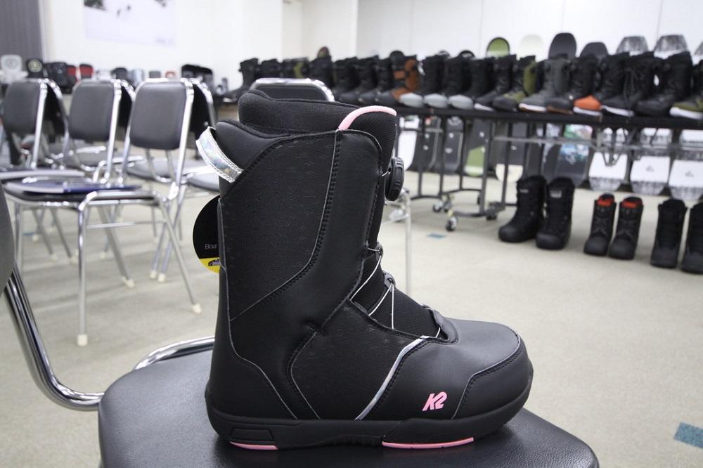 【最終セール】 K2 SNOWBOARDING BOOTS [ KAT BLACK @30240] ケイツー ジュニア ブーツ 【正規代理店商品】【送料無料】【 スノボ 用品】