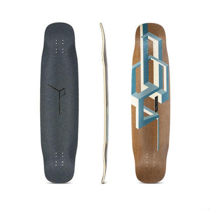 LOADED BOARDS [ Basalt Tesseract Deck デッキのみ @29160] ローデッドボード バサルト テッセラクト 【正規代理店商品】