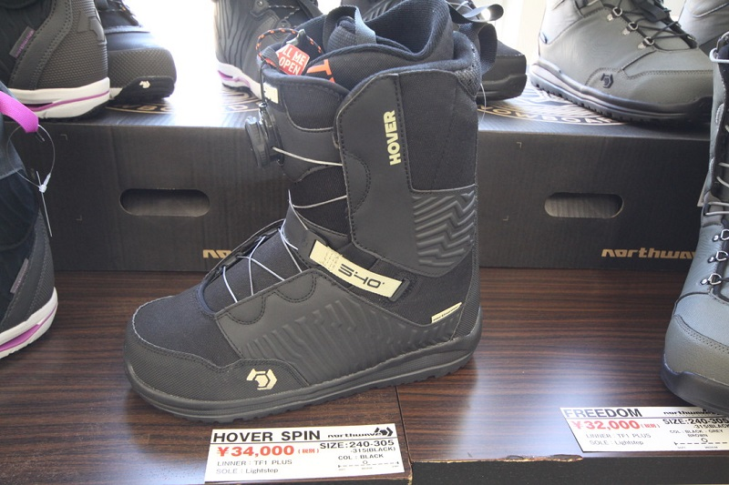 NORTHWAVE SNOWBOARD BOOTS [ HOVER SPIN ASIAN FIT @36720 ] ノースウェーブ ブーツ 【正規代理店商品】【