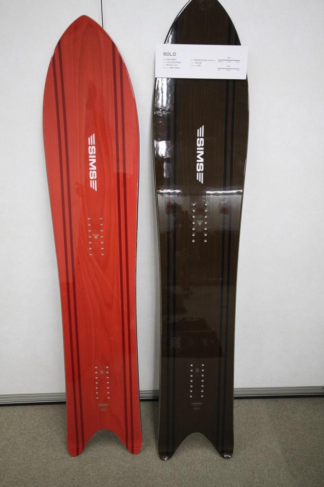 SIMS SNOWBOARDS [ SOLO @86400] シムス スノーボード 安心の正規輸入品 【送料無料】