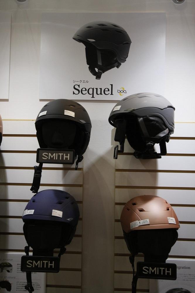 SMITH SNOW HELMET [ SEQUEL @29700 ] スミス ヘルメット 安心の正規輸入品【送料無料】