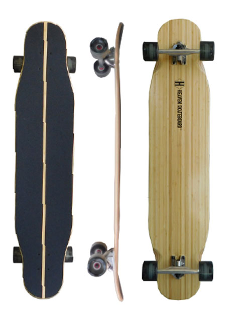 HEAVEN SKATE BOARDS [ DROP SURF 41.5 ] ロングスケートボード ヘブン ドロップ サーフ 安心の正規品