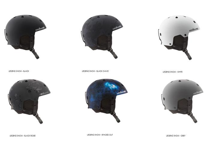 sand box HELMET [ LEGEND SNOW ASIAN FIT @17280] サンドボックス スノー ヘルメット