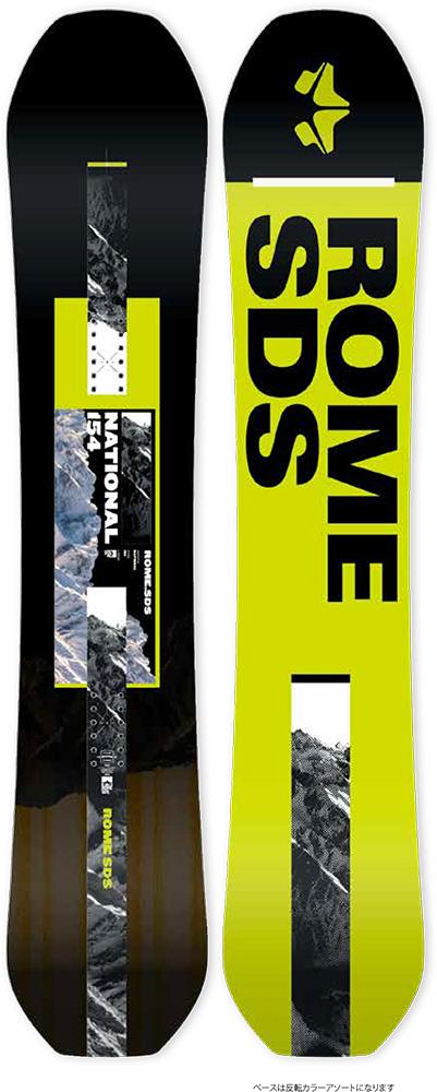 ROME SNOWBOARDS [ NATIONAL @75000] ローム スノーボード 安心の正規輸入品 【送料無料】