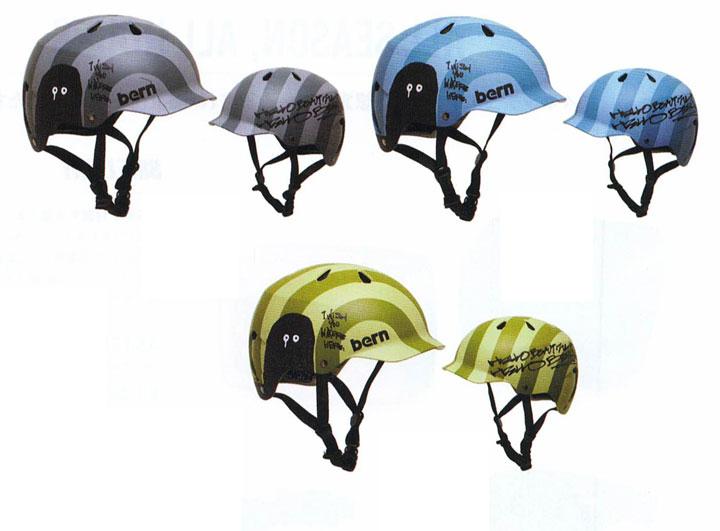 bern (バーン)ヘルメット [ WATTS 神山隆二モデル JAPAN FIT @13000] オールシーズンタイプ