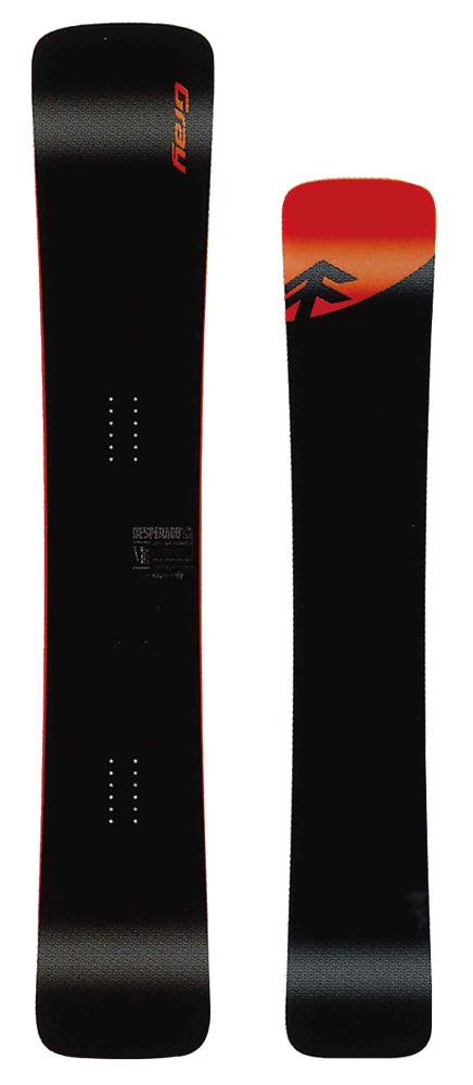 【在庫限最終特価】 GRAY SNOWBOARDS [ DESPERADO Ti Type R @159000] グレイ スノーボード 安心の正規品【送料無料】