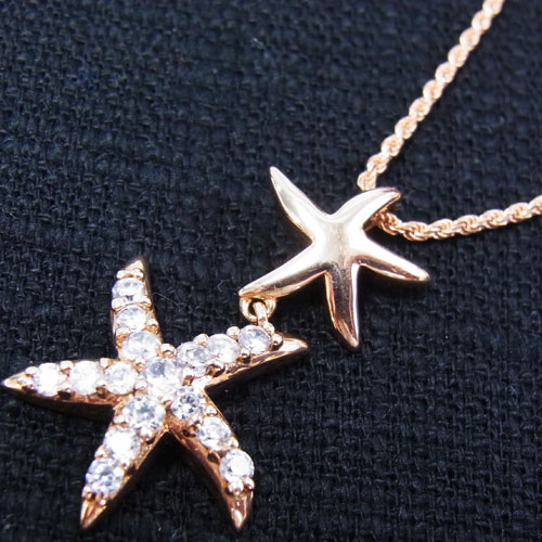 ダブルヒトデ14金ピンクゴールドハワイアンジュエリーペンダントトップ (PG1001)14Kハワイアンジュエリーネックレス ハワイアンジュエリーペンダントヘッド ひとで 人気 ひとで ギフトHawaiian ギフトHawaiian jewelry祝プチギフト父の日, チクシグン:71722256 --- sunward.msk.ru