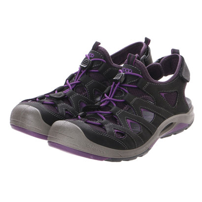 【アウトレット】エコー ECCO BIOM DELTA LADIES (BLACK/IMPERIAL PURPLE)