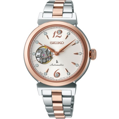 SEIKO ルキア LUKIA メカニカル 自動巻(手巻つき) 国産 腕時計 レディース SSVM010