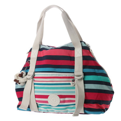 キプリング Kipling ART M PLAY (Spicy Stripe Bl)