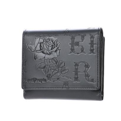 アルセラピィ artherapie フィセルローズ 二つ折り財布 アウトポケット(ブラック)