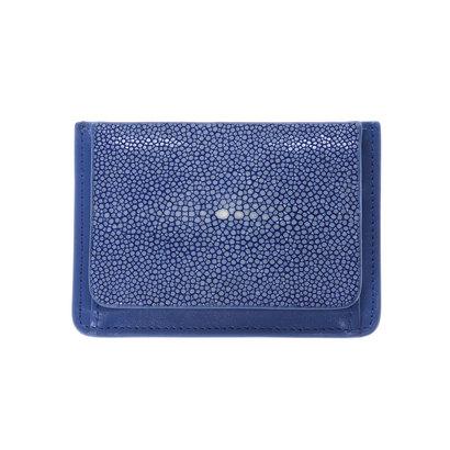 ジュエリッツ Jewelits ガルーシャ革コインカードケース (ブルー)
