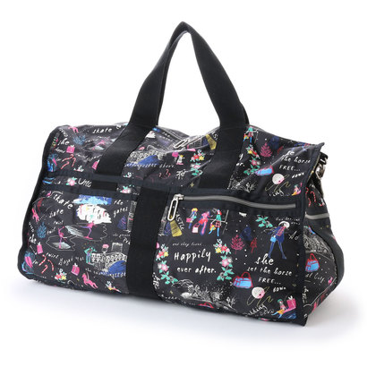 【アウトレット】レスポートサック LeSportsac CR LARGE WEEKENDER (WONDERLAND C)