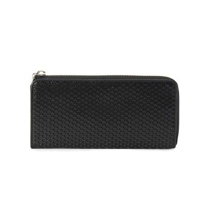 ヒロコ ハヤシ HIROKO HAYASHI CARDINALE(カルディナーレ) ファスナー式長財布 (ブラック)