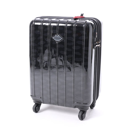 スパイラルガール SPIRAL GIRL スーツケース 36L拡張機能付トラベルハードキャリー (ブラック)