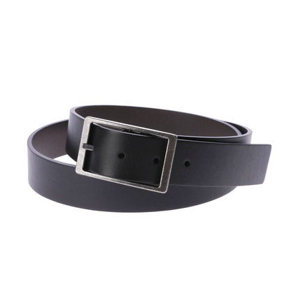 エコー ECCO Hesa Reversible Belt (BLACK/COCOA BROWN)