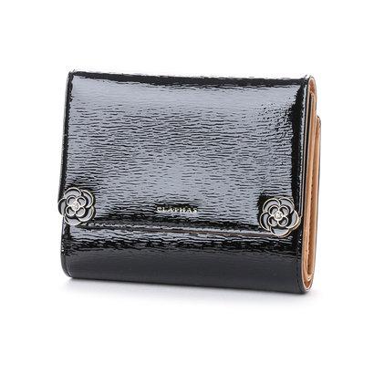 クレイサス CLATHAS リリー 3つ折り財布 (ブラック)