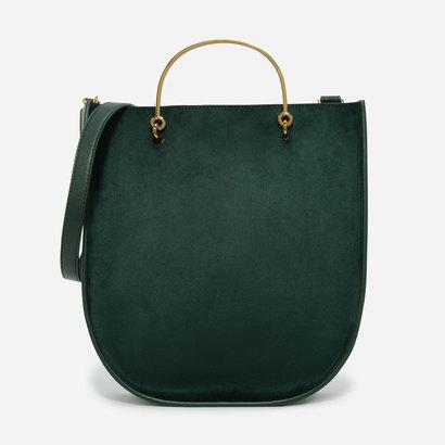 カーブベーストートバッグ / CURVED BASE TOTE BAG (Green)