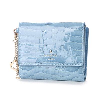 ランバン オン ブルー LANVIN en Bleu マゼンダ 2つ折り財布 (ブルー)