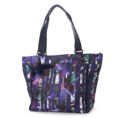 キプリング Kipling NEW SHOPPER S (Urban Flower Bl)
