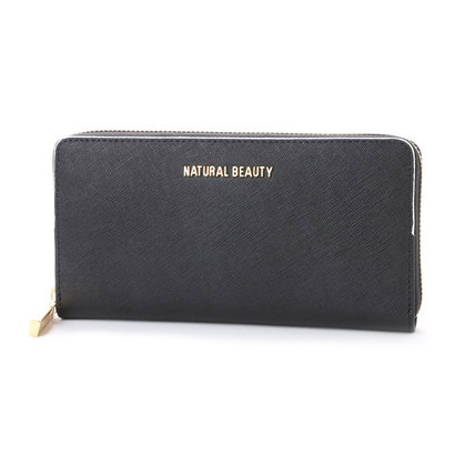 ナチュラルビューティー バッグアンドウォレット NATURAL BEAUTY BAG & WALLET エッジ (ブラック)