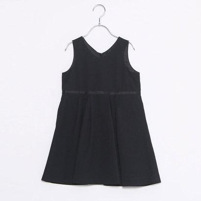 コムサイズム COMME CA ISM ジャガードジャンパースカート(110cm-130cm) (ブラック)