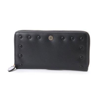 ラドリー RADLEY LIVERPOOL STREET - S ラウンドジップ財布 (BLACK)