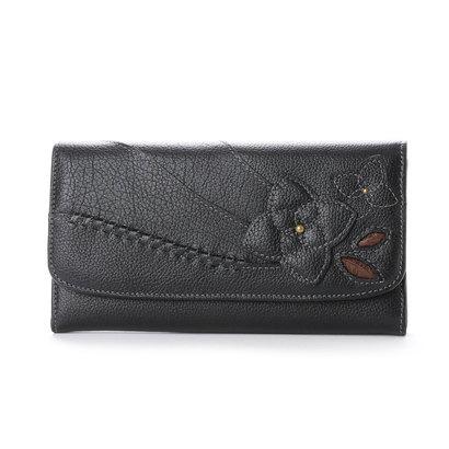 エスノ Ethno ギャルソン長財布 (ブラック)