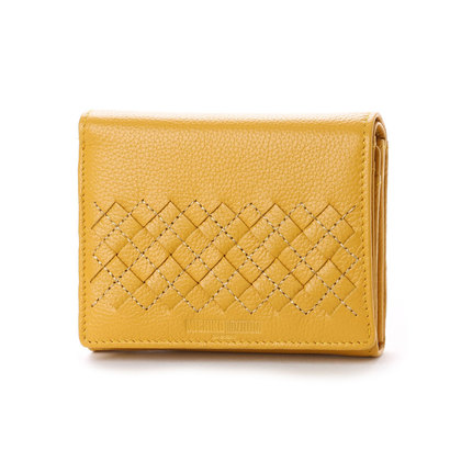 ミチコ ロンドン MICHIKO LONDON 2つ折財布 (イエロー)