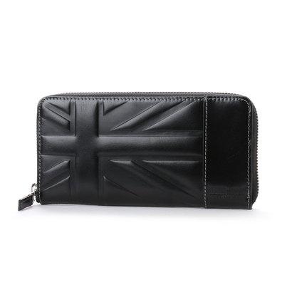 ミチコ ロンドン MICHIKO LONDON ラウンドファスナー長財布 (ブラック)