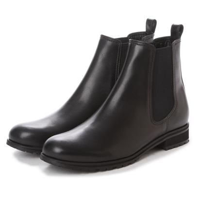 【アウトレット】イング ing サイドゴアショートブーツ ING2296 (ブラック)
