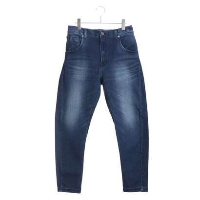 ゲス GUESS DENIM HAREM PANT (MEDIUM BLUE)【JAPAN EXCLUSIVE ITEM】
