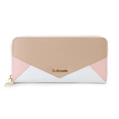 30a3513e4a3f9  シュエット レター型ラウンドジップ財布(ピンク):LOCOMALL(ロコンド ...