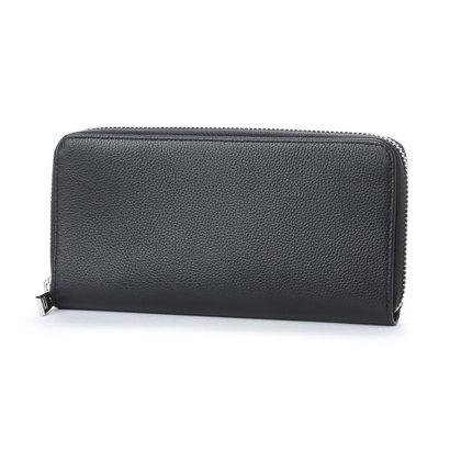 コムサイズム COMME CA ISM MONOラウンド長財布 (ブラック)