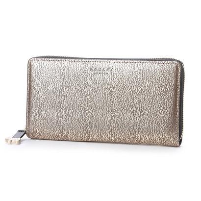 ラドリー RADLEY ARLINGTON STREET ラウンドジップ財布 (GOLD)
