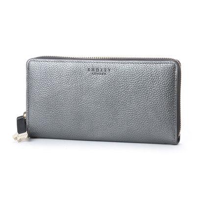 ラドリー RADLEY ARLINGTON STREET ラウンドジップ財布 (GRAY)