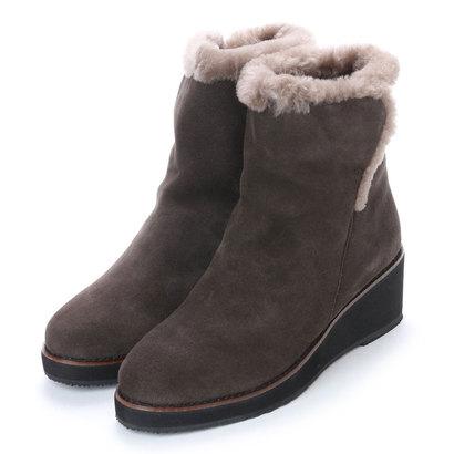 【アウトレット】アンタイトル シューズ UNTITLED shoes ムートンブーツUT5400 (グレー)