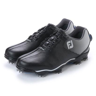 フットジョイ FootJoy メンズ ゴルフ ダイヤル式スパイクシューズ 17 DNA ボア BK/SV 9248752135 46
