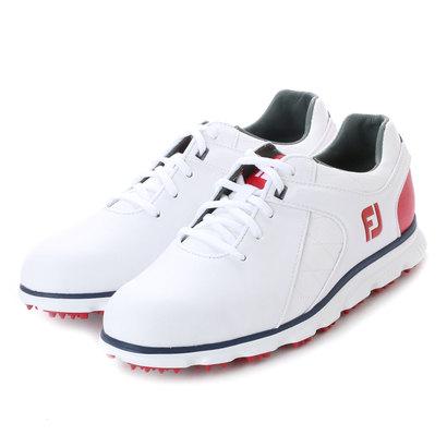 フットジョイ FootJoy メンズ ゴルフ シューレース式スパイクレスシューズ 17 プロSL WT/RD/NV 9248755617 51