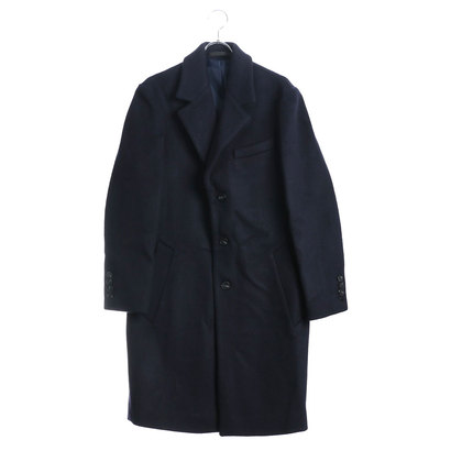 【アウトレット】ゲス GUESS WOOL CHESTER COAT (DARK NAVY)