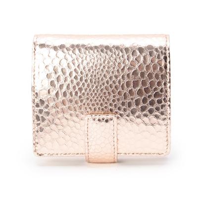 ヒロコ ハヤシ HIROKO HAYASHI GATTOPARDO(ガトーパルド)薄型二つ折り財布 (ピンク)