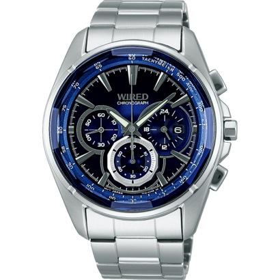 SEIKO ワイアード WIRED REFLECTION クロノグラフ マスコミモデル 腕時計 国産 メンズ AGAV101