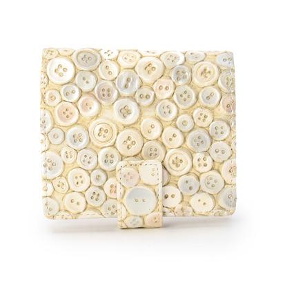 ヒロコ ハヤシ HIROKO HAYASHI ERENDHIRA(エレンディラ)薄型二つ折り財布 (オフホワイト)
