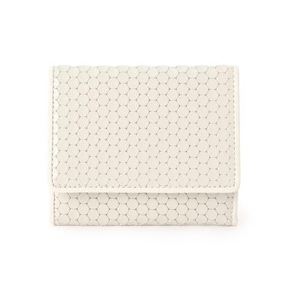 ヒロコ ハヤシ HIROKO HAYASHI CARDINALE(カルディナーレ) 薄型ミニ財布 (ホワイト)