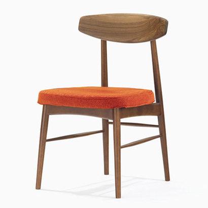 IDC OTSUKA/大塚家具 椅子 ユノA WN/カバー布#2 オレンジ (オレンジ)【返品不可商品】