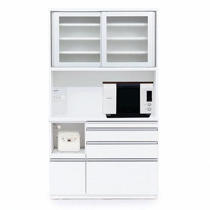 IDC OTSUKA/大塚家具 オープンボード ラム 1200 ゼブラホワイト (ホワイト)【返品不可商品】