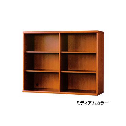 IDC OTSUKA/大塚家具 書棚 OF-120 オープン ミディアム (ミディアムブラウン)【返品不可商品】