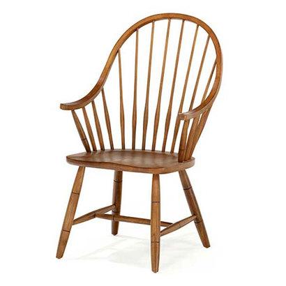 IDC OTSUKA/大塚家具 椅子(アーム) ニューカントリー 33-6400A #210U (ブラウン)【返品不可商品】